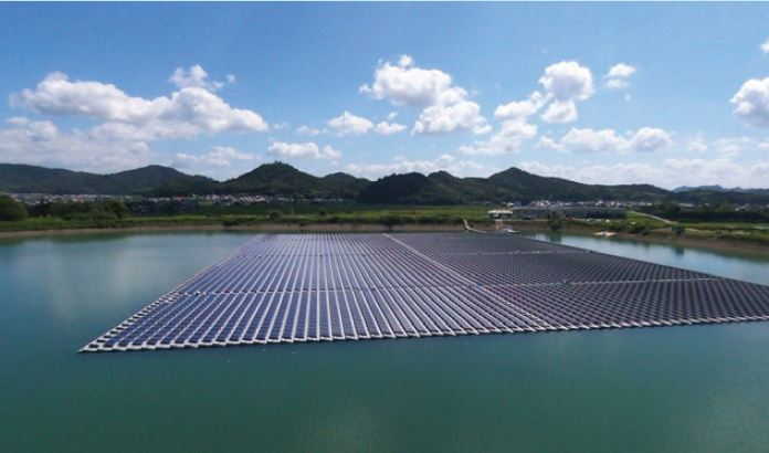 NTPC installed India's largest Floating Solar PV Plant at