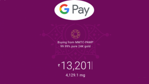 Google Pay users can now buy 24 Karat Gold in India via its App