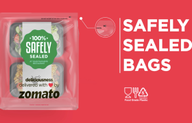 Zomato launches 100% Tamper Proof packaging in 10 Indian cities to provide safe, secure and Hygiene Food