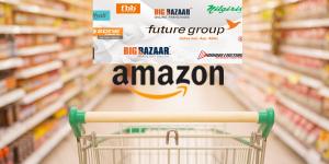 Amazon Future Retail, Amazon, Future Retail, Future Group, Future Retail Stake, Buy, Walmart, Flipkart, Big Bazaar, EasyDay, Foodhall, Hypercity, Hypercity Retail, Amazon Now, big bazaar, Bigbasket, E-commerce, future group, Grocery app, Grofers, kishore biyani, Mobile app, Online grocery, Online Shopping, Staples