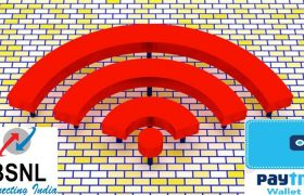 BSNL, SMART WIFI ON BOARDING, PAYTM, DIGITAL WALLET, FREE WIFI, WIFI IN INDIA, WIFI IN PUBLIC PLACES