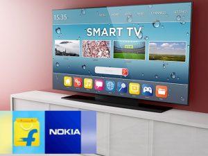 Nokia TV, Nokia Smart TV, Nokia Android TV, Motorola, Smart TV in India, Television, Motorola TV, Oneplus TV, MI TV, Flipkart, E-commerce Giant, Walmart